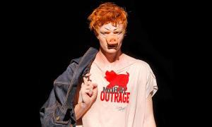 Moral Outrage T-shirt Model