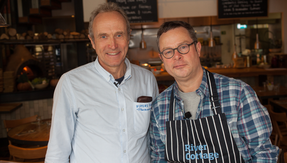 Hugh Fearnley-Whitingstall and Peter Greig